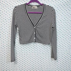 Urban Outfitters Striped Cropped Sweater